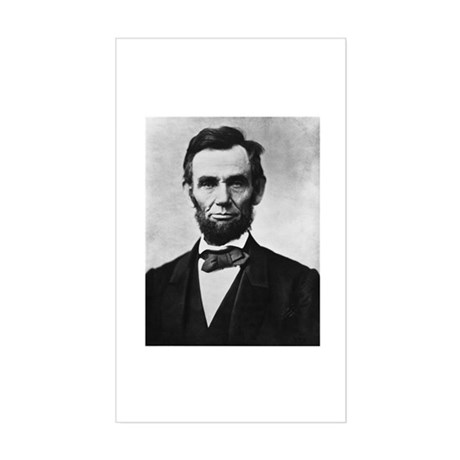 "Lincoln ""Honest Abe"" Rectangle Sticker"