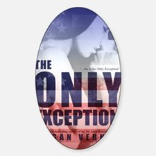 The Only Exception cover Decal