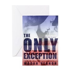 The Only Exception cover Greeting Card
