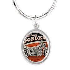 bobs-bobbers-TIL Silver Oval Necklace