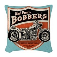 bobs-bobbers-TIL Woven Throw Pillow