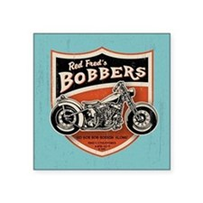 "bobs-bobbers-TIL Square Sticker 3"" x 3"""