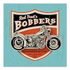 "bobs-bobbers-TIL Square Car Magnet 3"" x 3"""