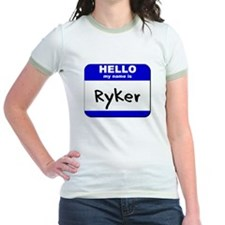 hello my name is ryker T