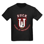 What the Duck University Kids Dark T-Shirt