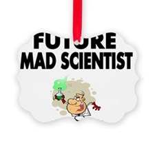 Future Mad Scientist Picture Ornament