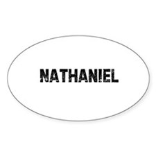 Nathaniel Oval Decal