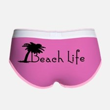 Beach Life Women's Boy Brief