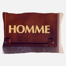 Homme/Man in French Pillow Case