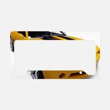 Sports car License Plate Holder