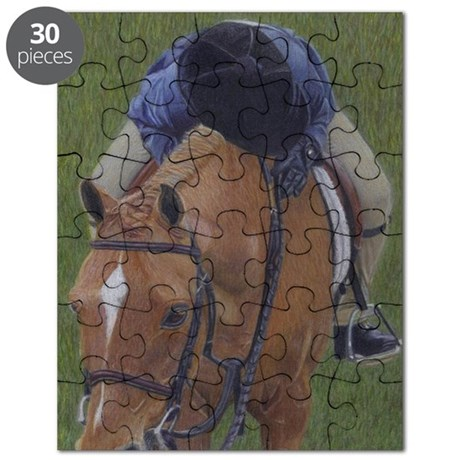 Young Rider and Pony Puzzle