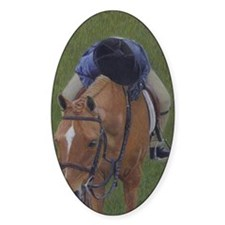 Young Rider and Pony Decal