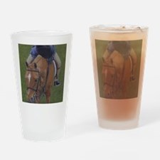 Young Rider and Pony Drinking Glass