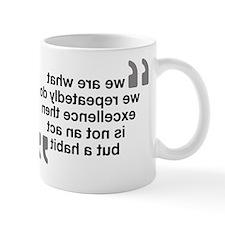 Mirror Quote - Aristotle Mug