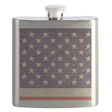 US Flag Flask