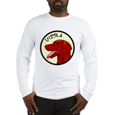 Vizsla Profile Long Sleeve T-Shirt