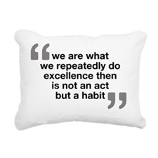 Quote - Aristotle Rectangular Canvas Pillow