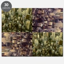 Photo Collage Aerial Manhattan Puzzle