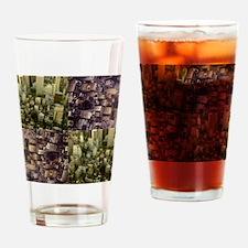 Photo Collage Aerial Manhattan Drinking Glass