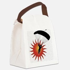 Sunset Skydive Canvas Lunch Bag