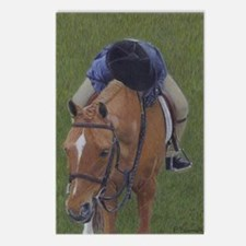 Young Rider and Pony Postcards (Package of 8)