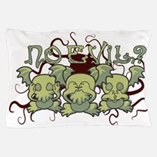 No Evil Cthulhu Pillow Case