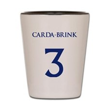 Carda-Brink 3 Shot Glass