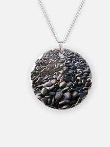 Sunlight on Beach Pebbles Necklace