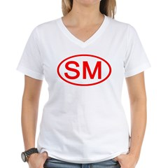 SM Oval (Red) Shirt