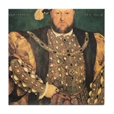 Hans Holbein the Younger Henry VIII Tile Coaster