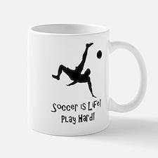 Soccer is Life Mugs