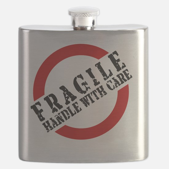 FRAGILE HANDLE WITH CARE Flask