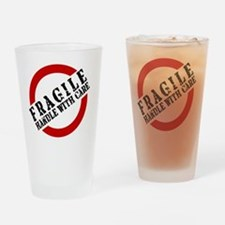 FRAGILE HANDLE WITH CARE Drinking Glass