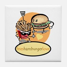 hamburger.fries Tile Coaster