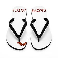Stachesquatch Flip Flops