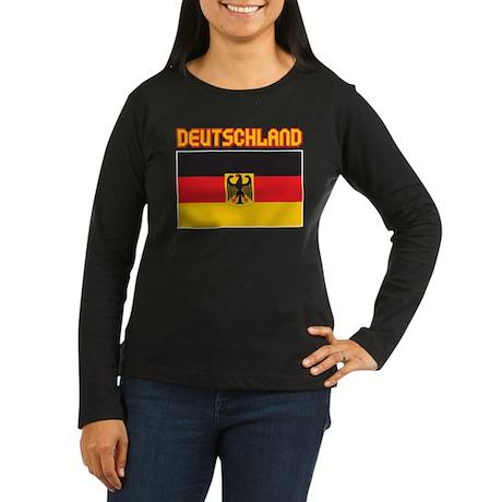 Deutschland Women's Long Sleeve Dark T-Shirt