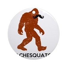Stachesquatch Round Ornament