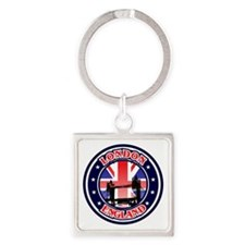 Tames River Square Keychain
