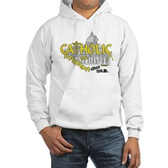 Catholic and Christian (Gold) Hoodie