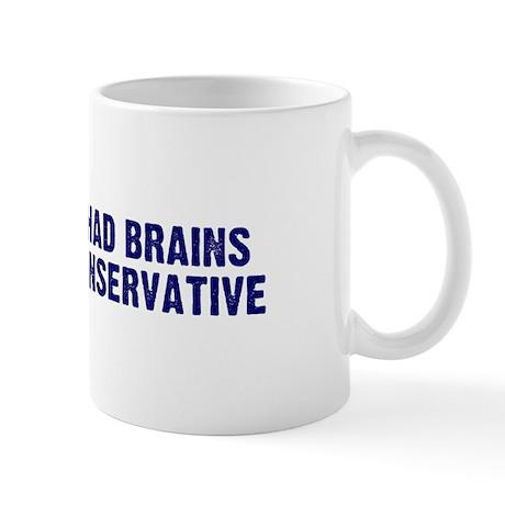 If Liberals Had Brains Mug