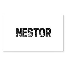 Nestor Rectangle Decal