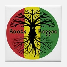 Roots Reggae Designs-3 Tile Coaster