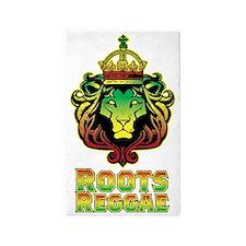 Roots Reggae Lion 3'x5' Area Rug