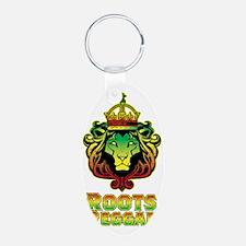 Roots Reggae Lion Keychains