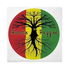 Roots Reggae Designs-3 Queen Duvet