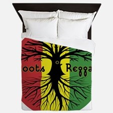 Roots Reggae Designs-3 Queen Duvet