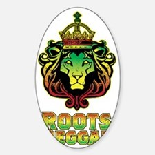 Roots Reggae Lion Decal