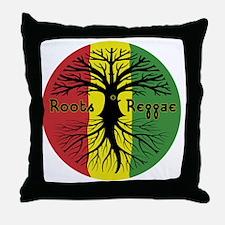 Roots Reggae Designs-3 Throw Pillow