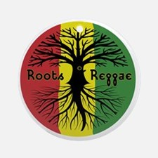 Roots Reggae Designs-3 Round Ornament