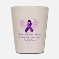 Fighting For Someone I Love Shot Glass